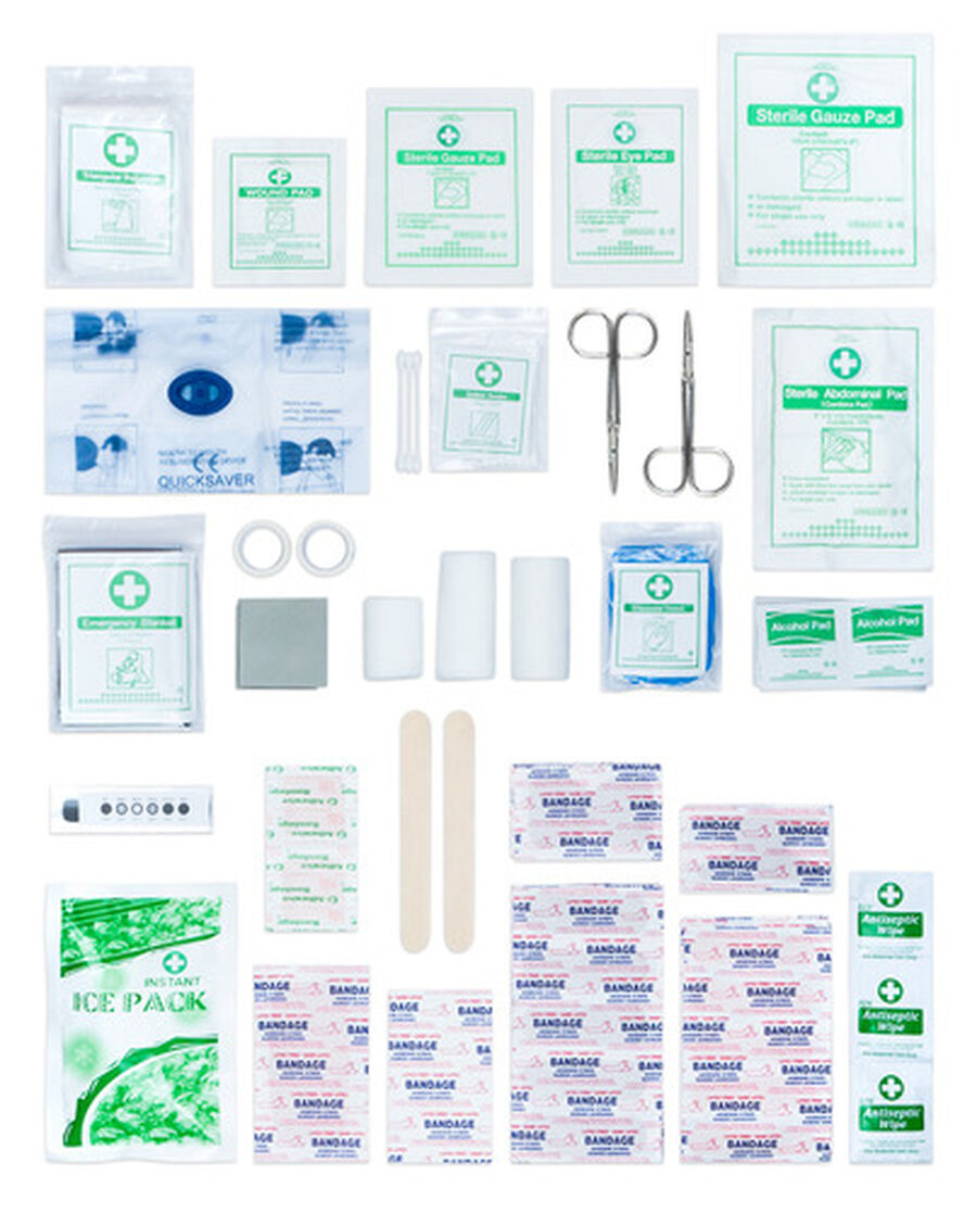 Caring Mill® Comprehensive Family First Aid Kit 228pc, , large image number 4