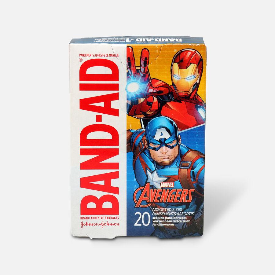 Band-Aid Adhesive Assorted Bandages Marvel Avengers, 20 ct., , large image number 0