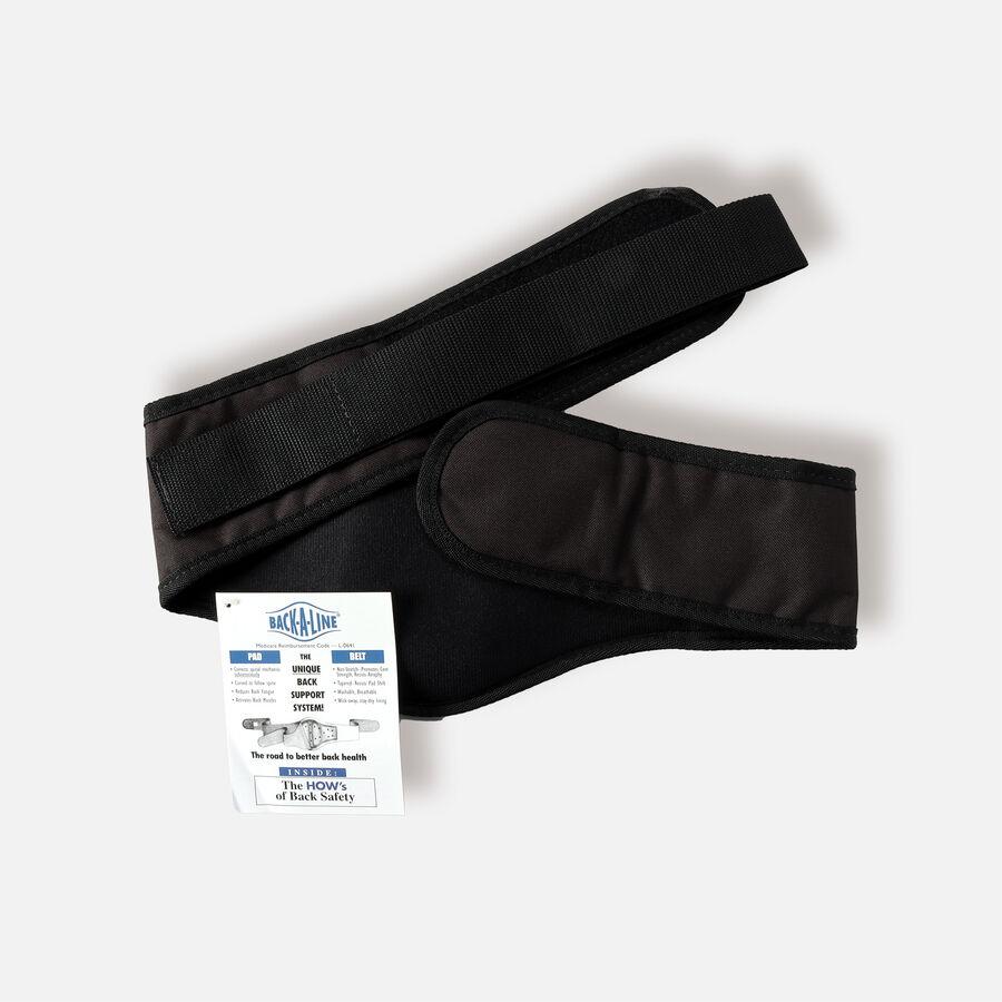 Back-A-Line Premier BMMI® Medical Magnets Lumbar Support, Black, , large image number 1