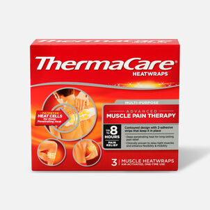 Thermacare Heat Wrap Muscle and Joint Wraps, 8HR, 3 ct