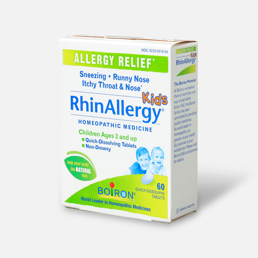 Boiron Rhinallergy Kids, 60 Tabs, , large image number 2