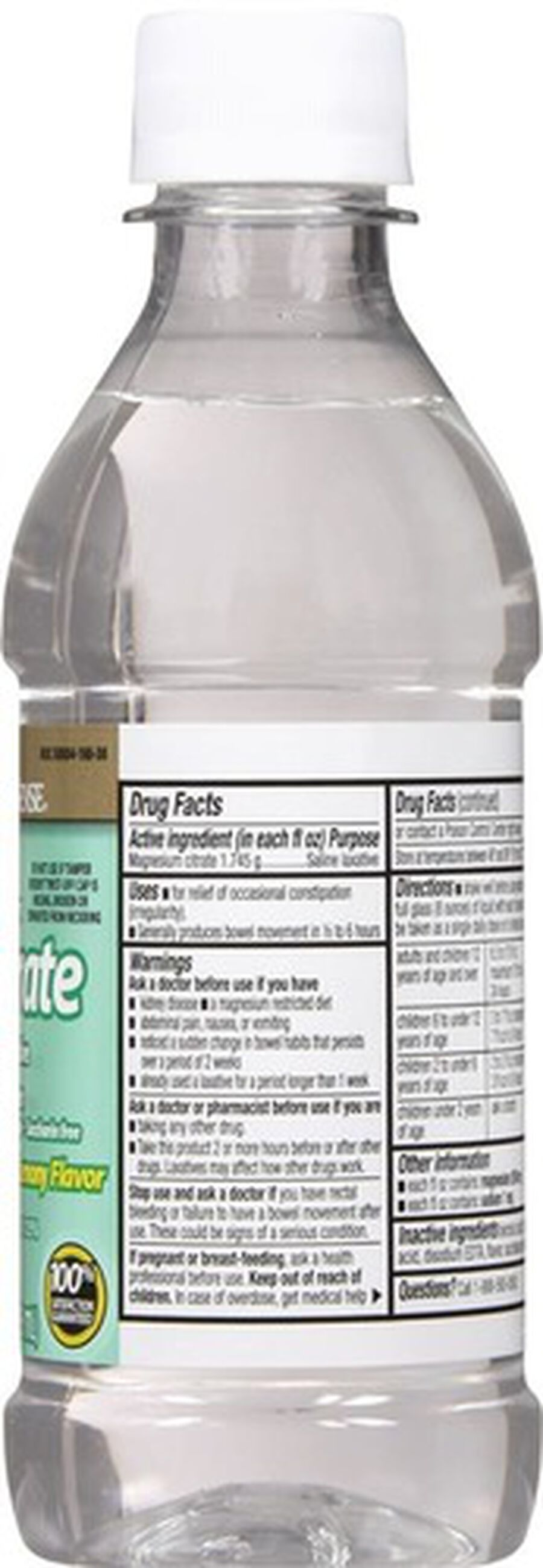 GoodSense® Cirtrate Magneisum Dye- Free Lemon, 10 oz, , large image number 1