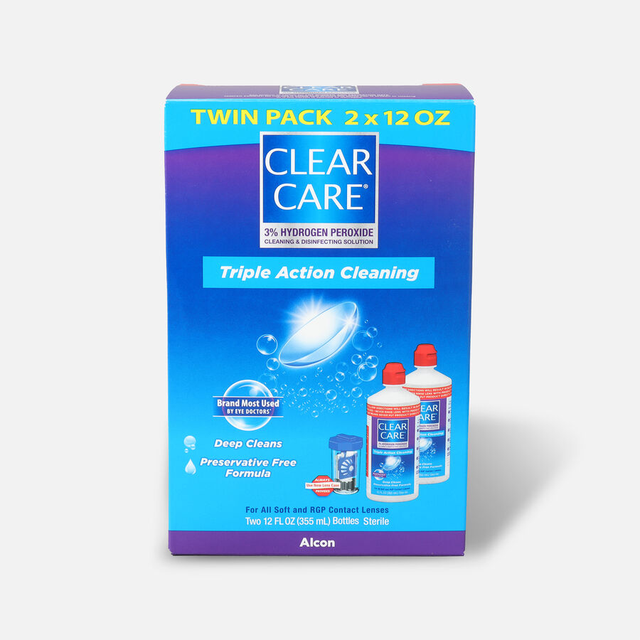 Clear Care Cleaning and Disinfecting Solution, , large image number 1