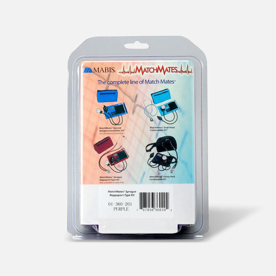 MatchMates Aneroid Sphyg Kit with Stethoscope, , large image number 4