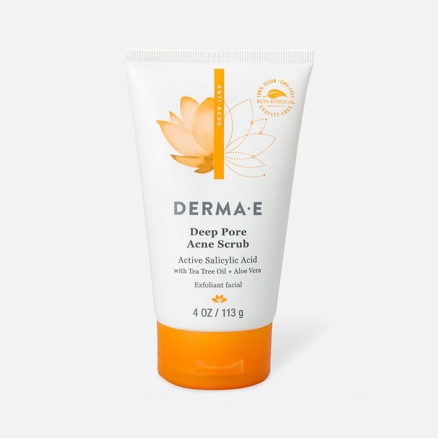 Derma E Very Clear Deep Pore Acne Scrub, , large image number 0
