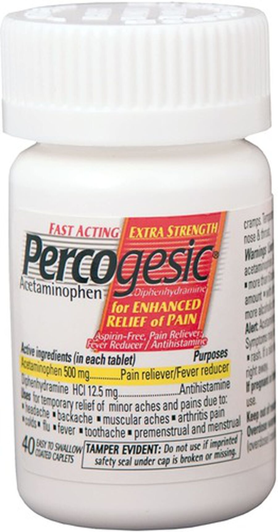 Percogesic, Extra Strength, 40 count, , large image number 4