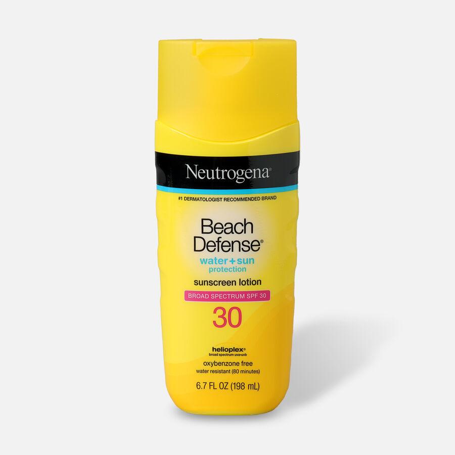 Neutrogena Beach Defense Sunscreen SPF 30 Lotion, 6.7 oz, , large image number 0