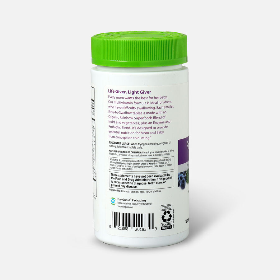 Rainbow Light Prenatal Petite Mini-Tablet Multivitamin, 180 Ct, , large image number 2