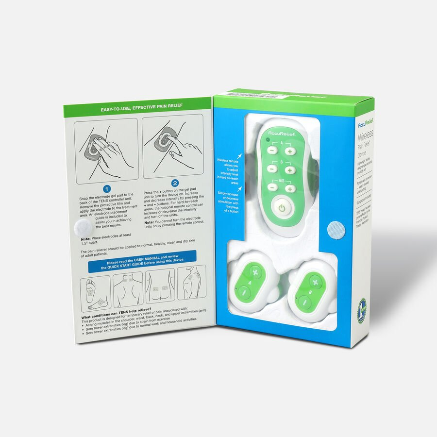 AccuRelief™ Wireless Remote Control TENS, , large image number 2