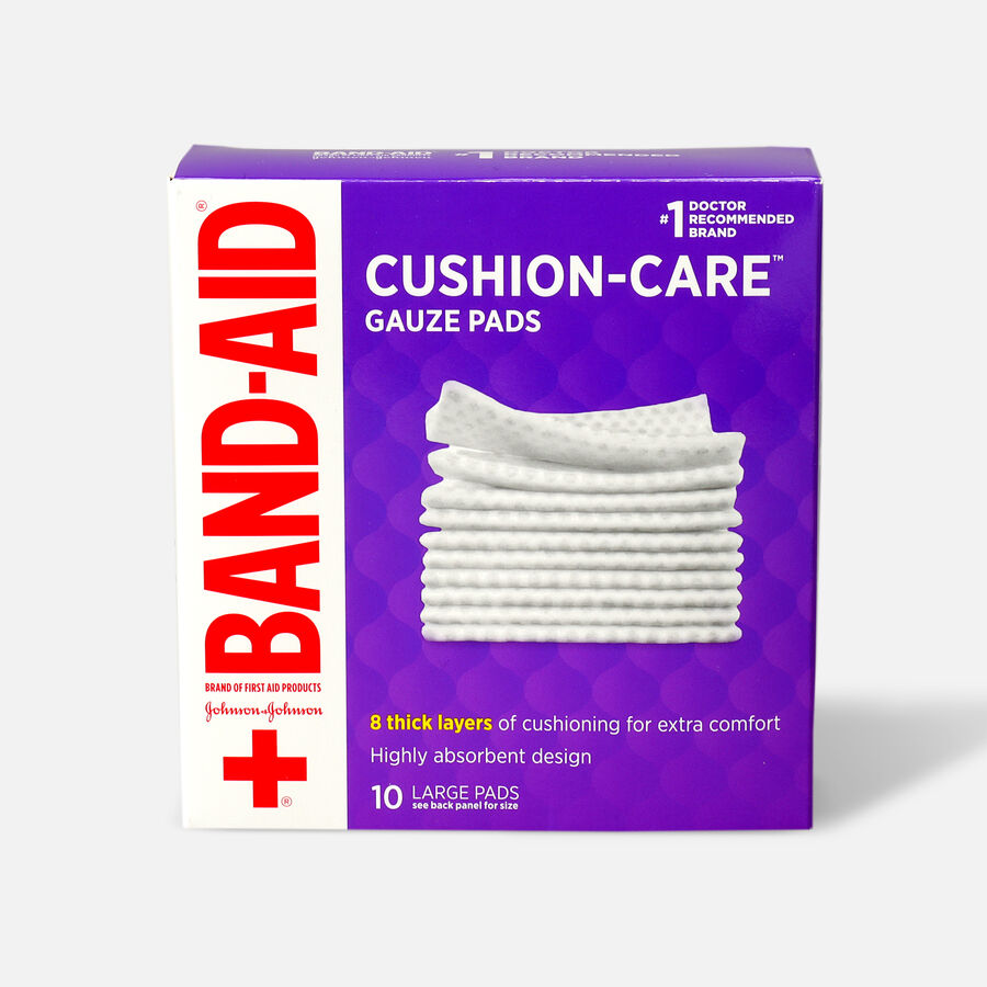 Band-Aid First Aid Gauze Pads 4x4, , large image number 0