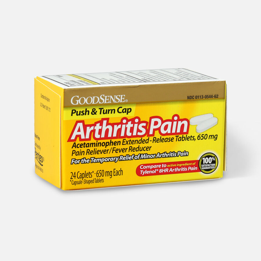 GoodSense® Arthritis Pain Relief 650 mg Extended Release Caplets, , large image number 2