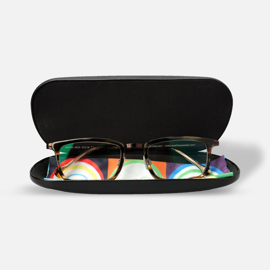 eyeOs Anton Tortoise Premium Reading Glasses, , large image number 3