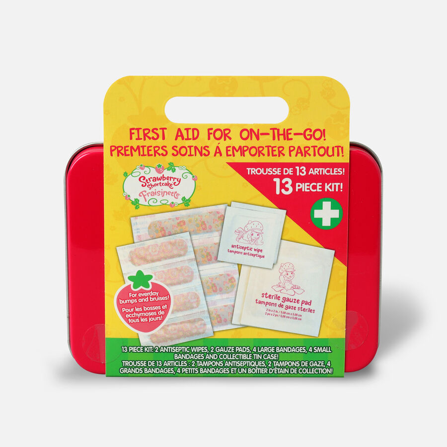 Strawberry Shortcake 13 Pc First Aid Kit, , large image number 1
