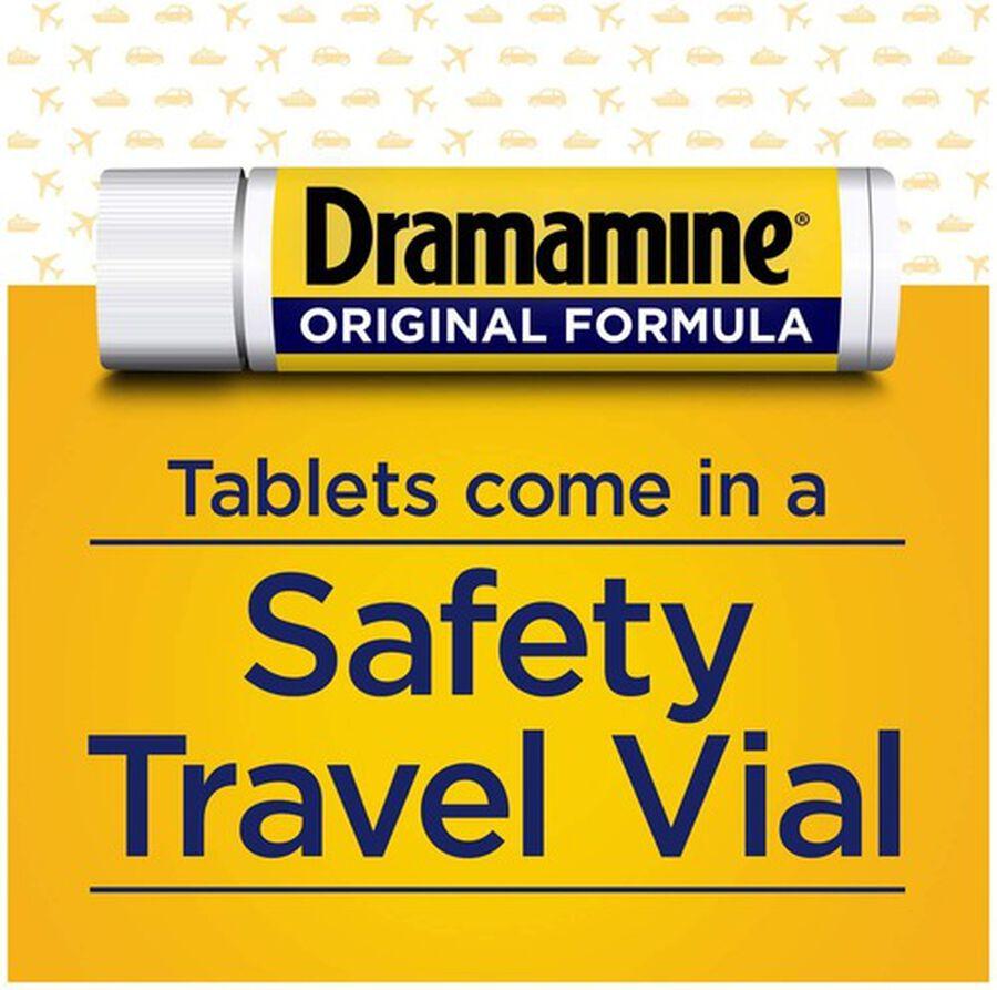 Dramamine Motion Sickness Relief, Original Formula, 12 ct, , large image number 2