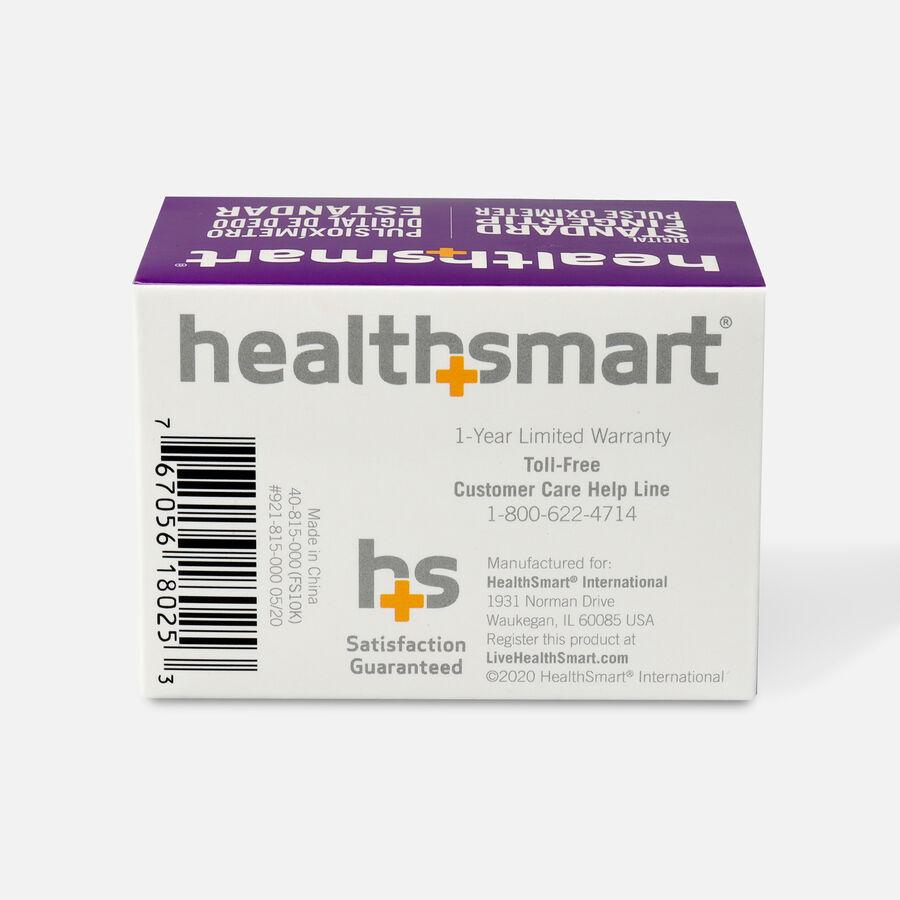 HealthSmart Pulse Oximeter Standard with Red LED Display, , large image number 1