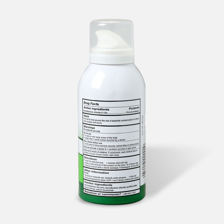 Cosrich Pro+ect Antibacterial Wound Wash, 4 oz, , large image number 1