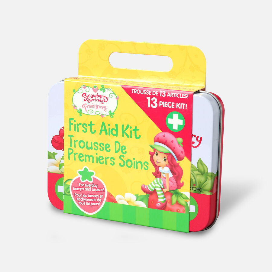 Strawberry Shortcake 13 Pc First Aid Kit, , large image number 2