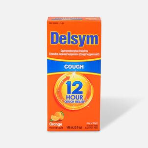 Delsym Adult Liquid, Orange with Dosage Cup, 5 oz