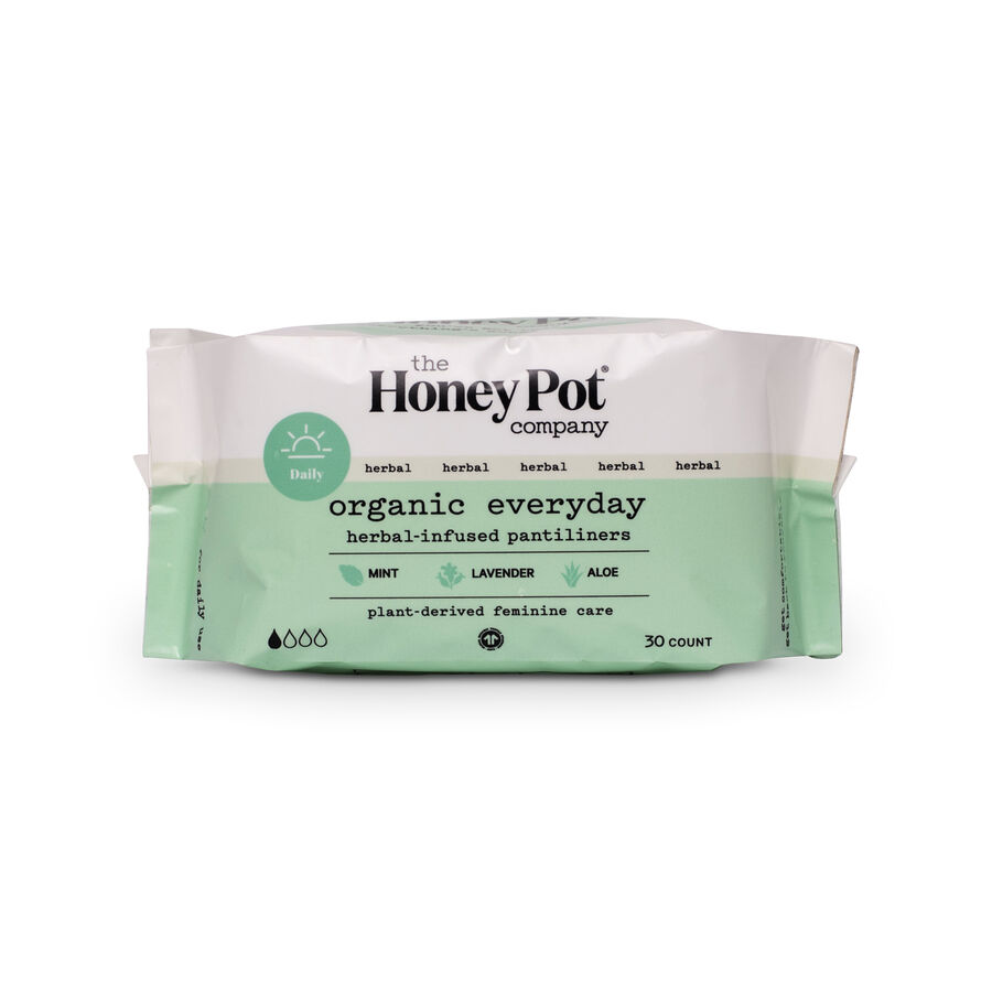 The Honey Pot Everyday Pantiliners, 30 ct, , large image number 0