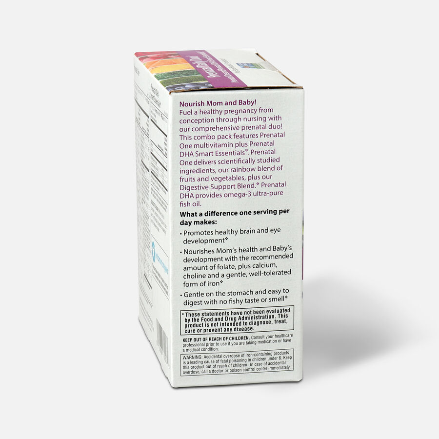 Rainbow Light Prenatal Daily Duo: Prenatal One + DHA 30 tab + 30 SG, , large image number 3