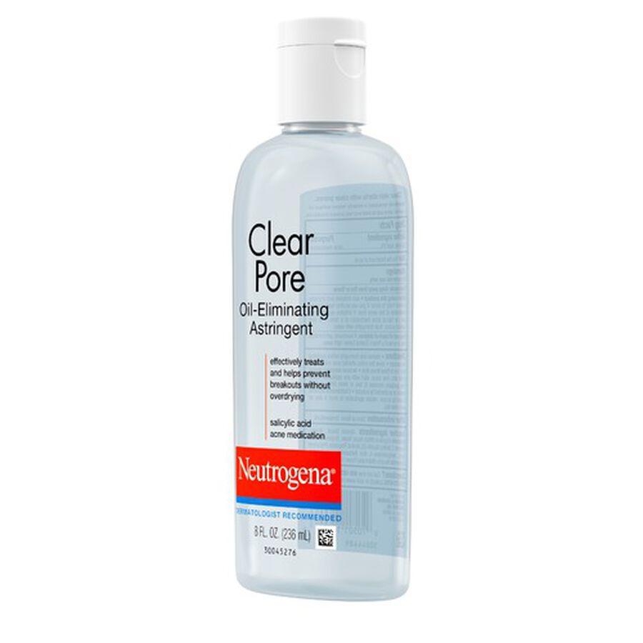 Neutrogena Clear Pore Oil-Eliminating Astringent, 8oz., , large image number 1