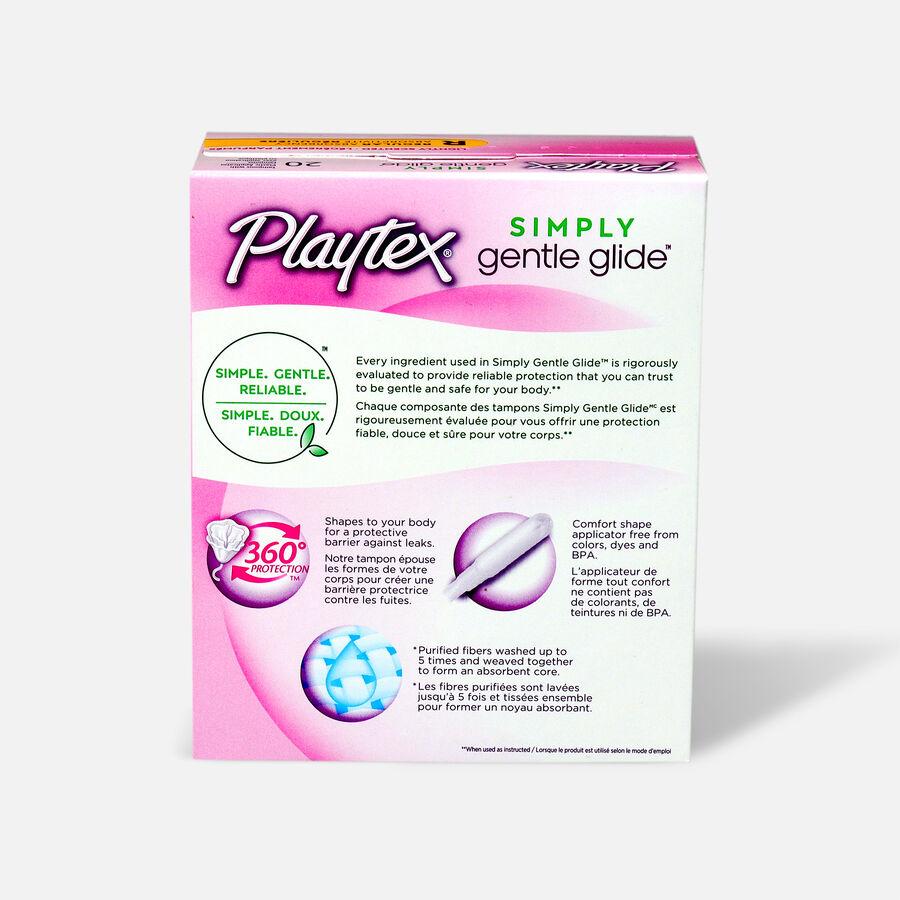 Playtex Gentle Glide Deodorant Regular Tampons, , large image number 1
