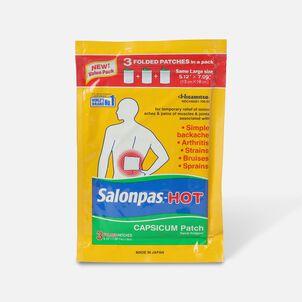 Salonpas Hot Capsicum Patch, 3 ct.