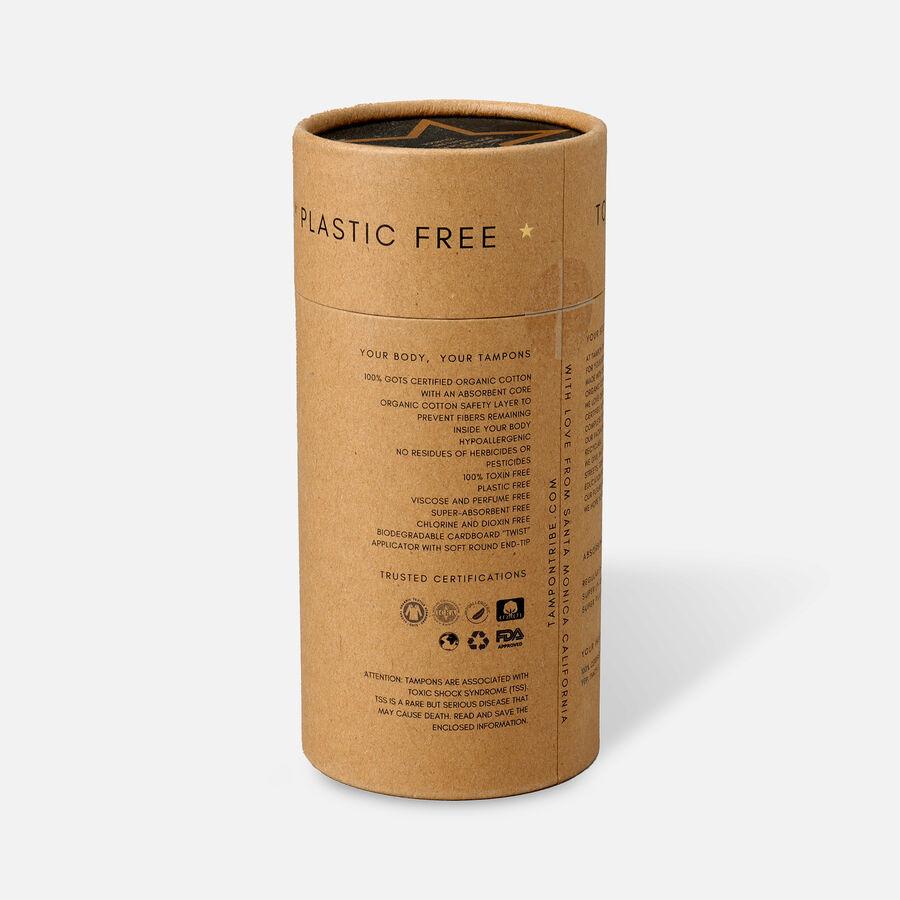 Tampon Tribe Organic Cotton Applicator Tampons, , large image number 1