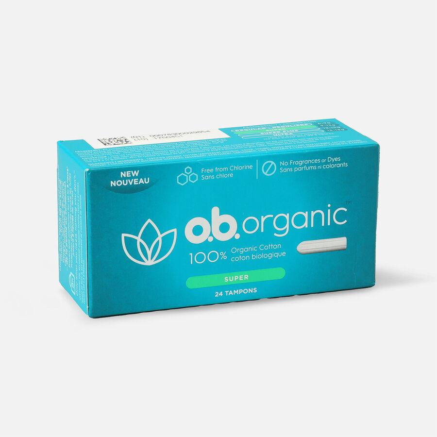 o.b. Organic Super Tampon, 24ct, , large image number 1