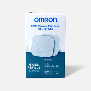 Omron Heat Pain Pro Gel Refills, 6 Count