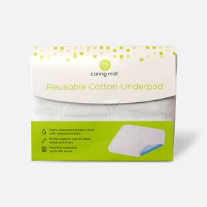"""Caring Mill™ 24"""" x 36"""" Reusable Cotton Underpad"""