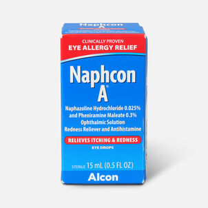 Naphcon-A Eye Allergy  Drops Pocket Pack, 15 mL