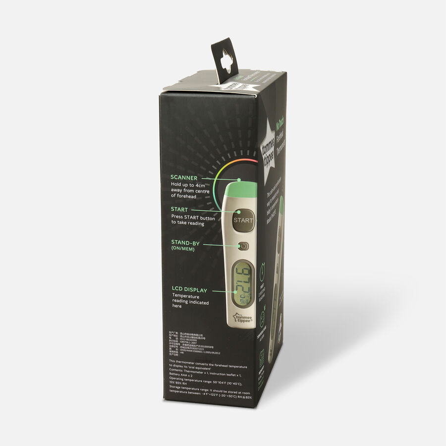 Tommee Tippee, No Touch Digital Thermometer, , large image number 3