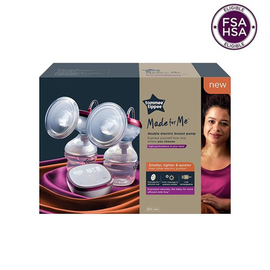 Tommee Tippee, Made for Me Double Electric Breast Pump, , large image number 0