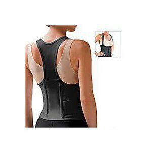 Fla Orthopedic Cincher Back Support Black Medium, #6000MB