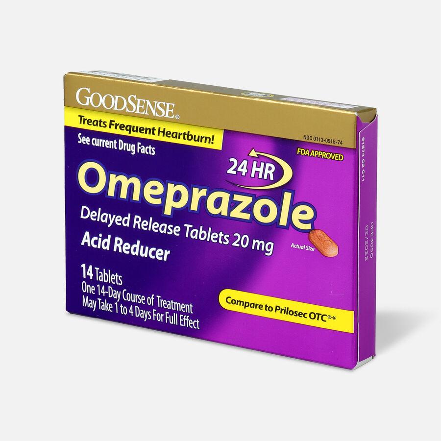 GoodSense® Omeprazole Delayed Release Tablets 20 mg, Acid Reducer, , large image number 2