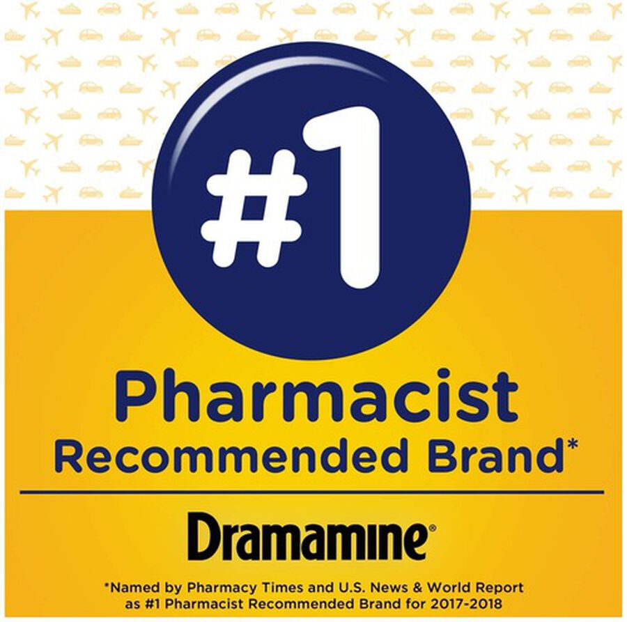 Dramamine Motion Sickness Relief Tablets, Original Formula, 36 ct, , large image number 2