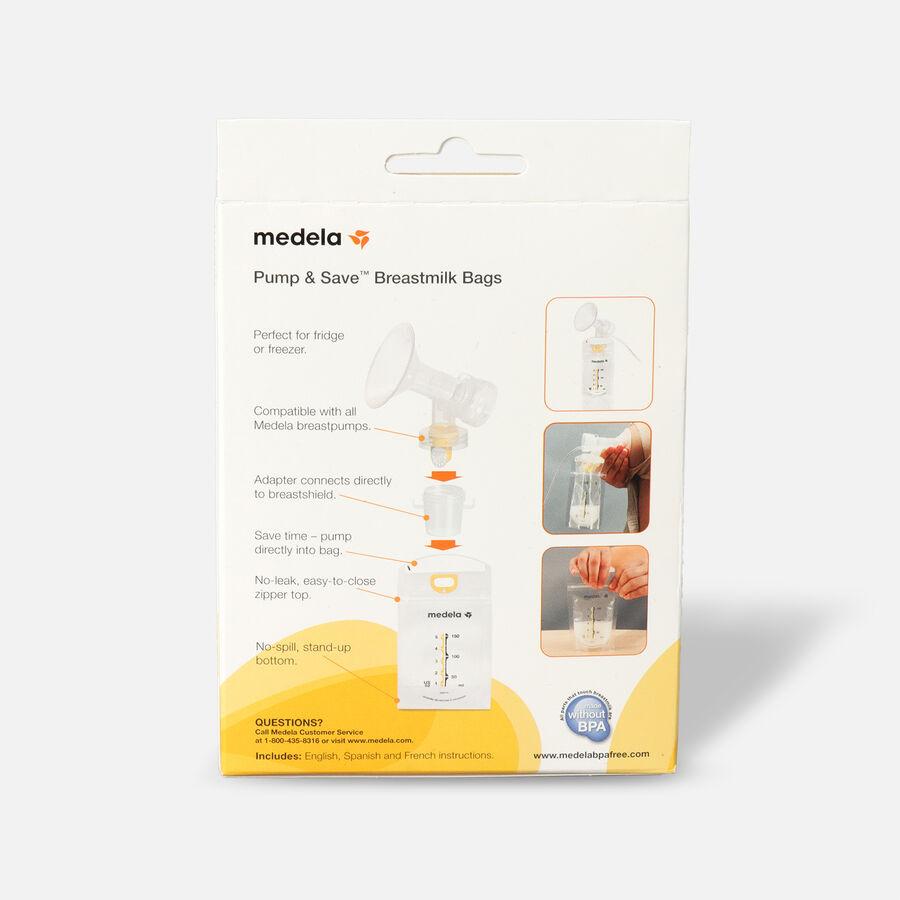 Medela Pump & Save Breast Milk Bags, 20 pack, , large image number 1