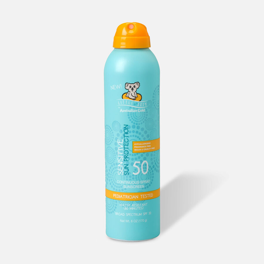 Australian Gold Little Joey Continuous Sunscreen Spray, SPF 50, 6oz., , large image number 0