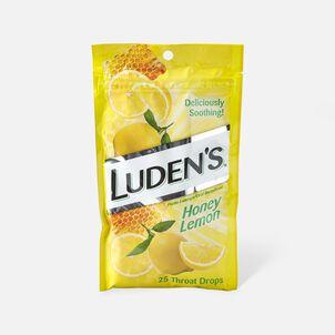 Luden's Honey Lemon Throat Drops, 25 ct.