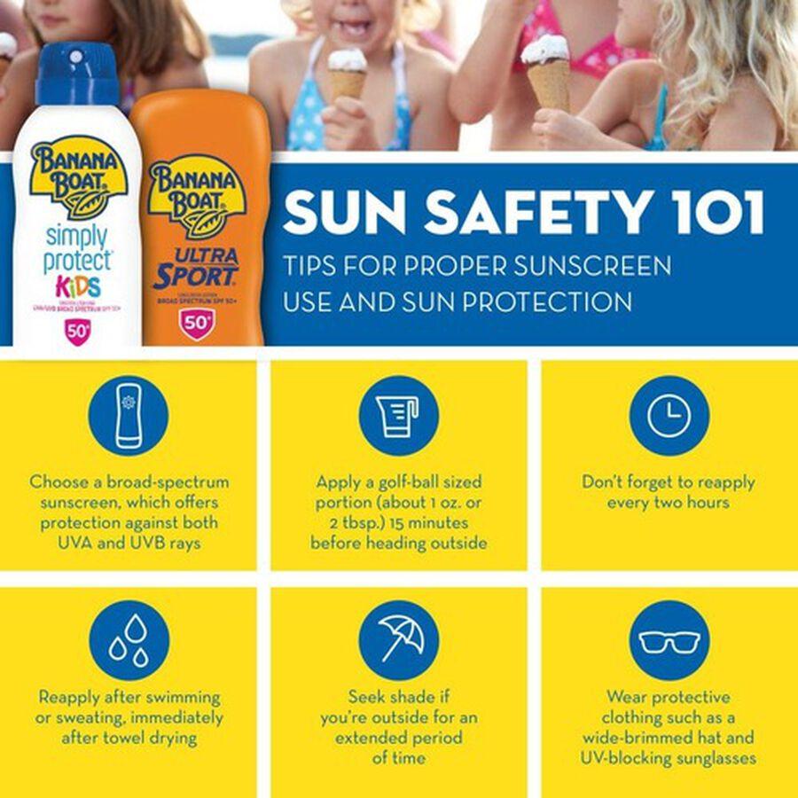 Banana Boat Simply Protect Sensitive Sunscreen Lotion SPF 50+, 6oz., , large image number 5