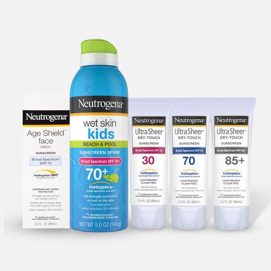 Neutrogena Sunscreen Bundle, , large image number 0