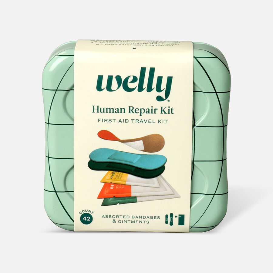 Welly Human Repair First Aid Travel Kit - 42ct, , large image number 0