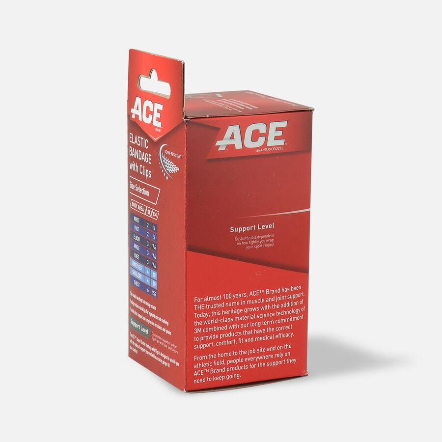Ace Elastic Bandage with Clips - Black, , large image number 9