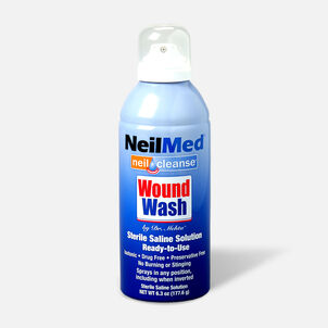 NeilCleanse Wound Wash Saline Spray 6oz