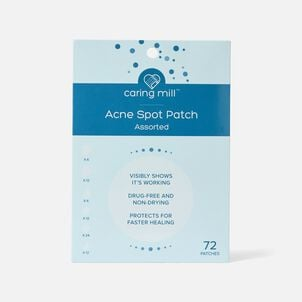 Caring Mill Acne Patch, 72 ct