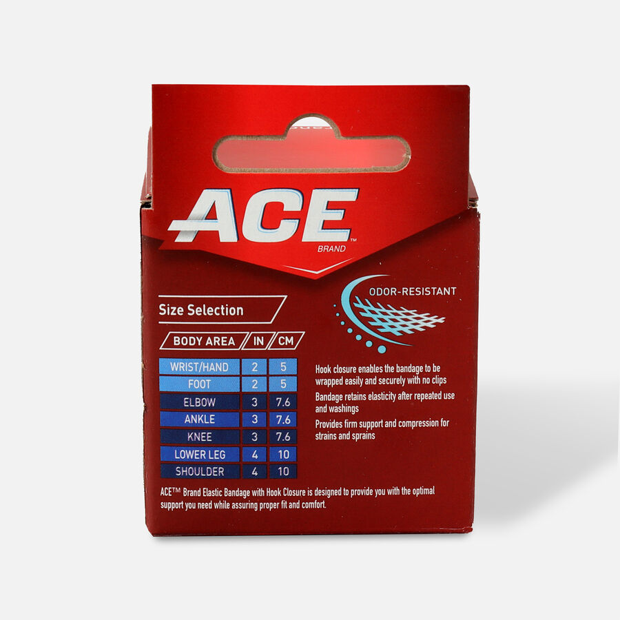 ACE Elastic Bandage with Hook Closure, , large image number 1