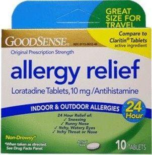 GoodSense® Allergy Relief Loratadine 10 MG 24- HR Tablets 10 ct