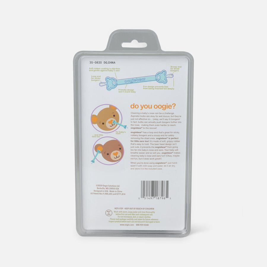 Oogiebear Baby Booger Picker with Case, 2-Pack, Orange/Seafoam, Orange/Seafoam, large image number 4