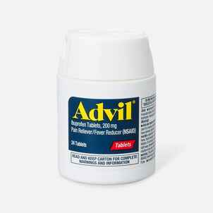 Advil Pain Reliever and Fever Reducer Coated Tablets, 200mg